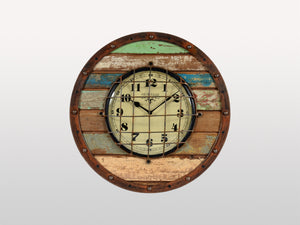 Némo round wall clock