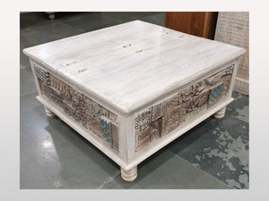 Table basse / coffre antique - Kif-Kif Import