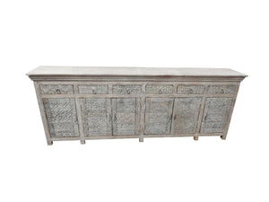 Buffet antique Mambok 6 portes - Kif-Kif Import