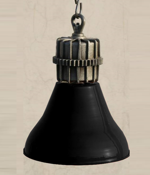 Parker black hanging lamp