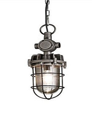 Maryland pendant light metal & glass - Kif-Kif Import