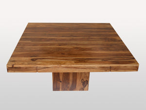 Enzo Square Dining Table in Rosewood - Kif-Kif Import