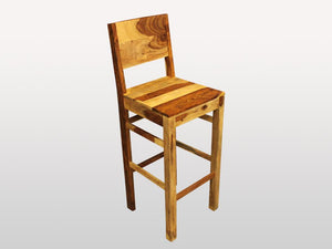 Avadi stool in rosewood - Kif-Kif Import