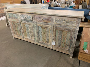 Buffet Antique 4 portes 4 tiroirs - Kif-Kif Import
