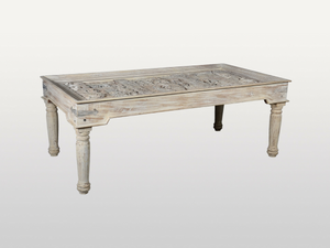 Antique glass dining table - Kif-Kif Import