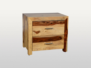 2 bedside table Avadi drawers - Kif-Kif Import