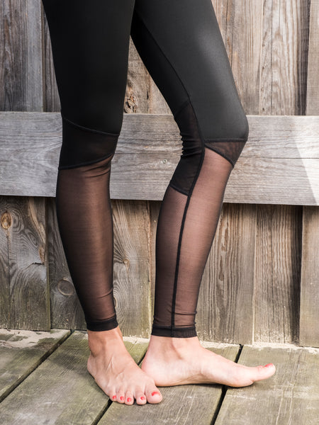 LAST ONES! Monya Leggings | mesh [ size L + XL ]