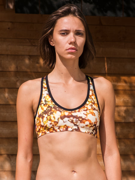 Suma X Discosis/Black Sports Bra