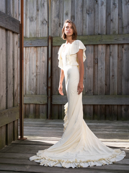 Arielle Avorio Wedding Dress Frontansicht