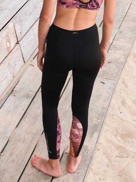 Temple Shangri-La/Black Legging