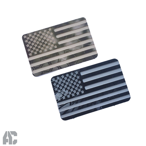 American Flag Kydex Morale Patch - Armordillo Concealment, Inc.