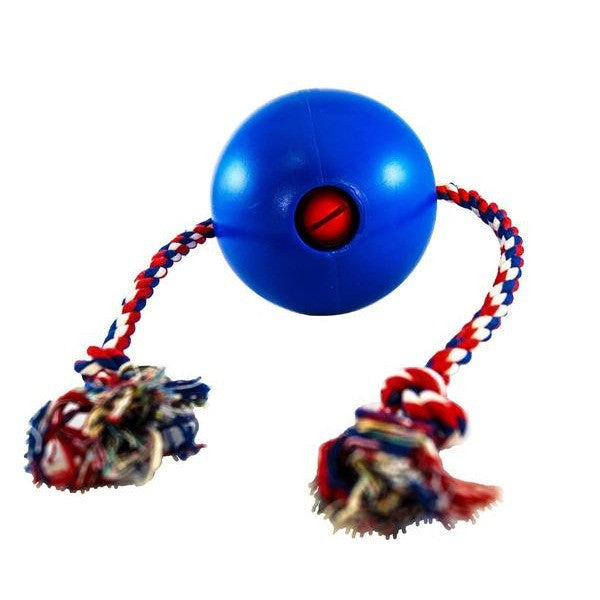 Tuggo Teeny Tiny (4 Inch) Water Weighted Exercise Dog Toy with Rope