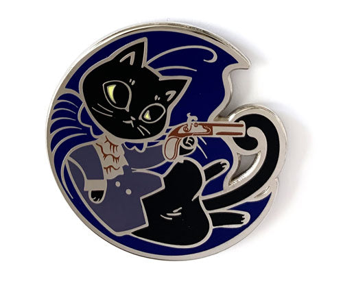 *SECONDS* Aaron Purr, Sir Hard Enamel Pin