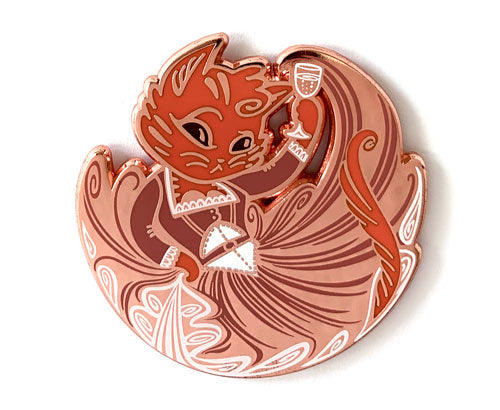 Anjellicle Schuyler Hard Enamel Pin