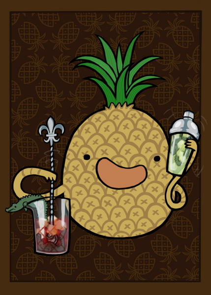Pineapple :: Carnivorous Foods Series