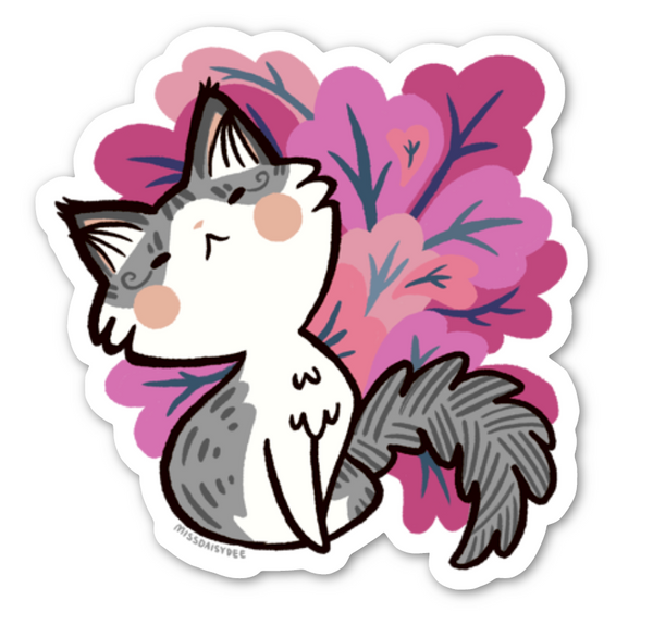 Team Cute Trinket Sticker