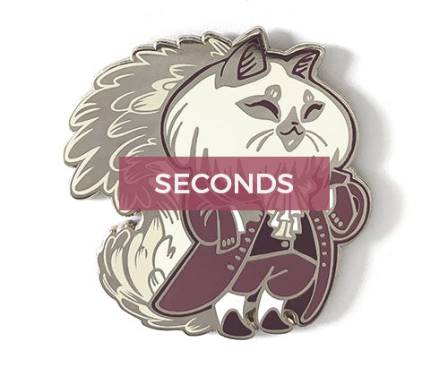*SECONDS* Thomas Jeffurson Hard Enamel Pin