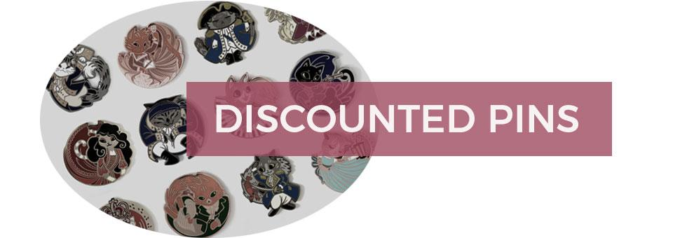 Buy seconds pins at a discount!