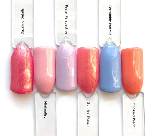 Gel Nail Polish  Collection From The Manicure Company