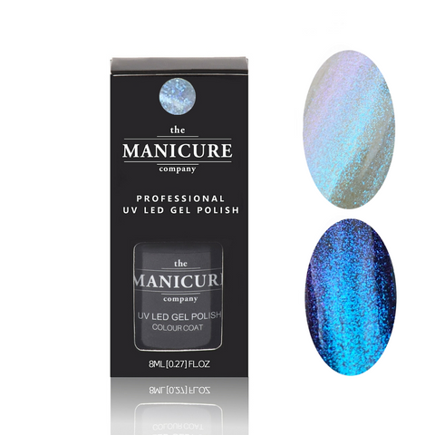 Aquatic Hightlight gel nail polish by The Manicure Company