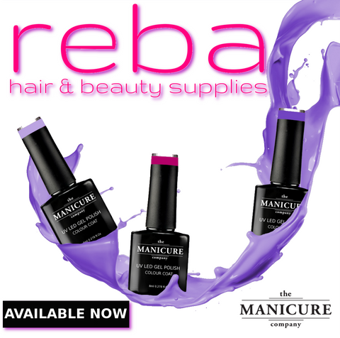 Reba salon supplies stockists of the manicure company gel nail polish