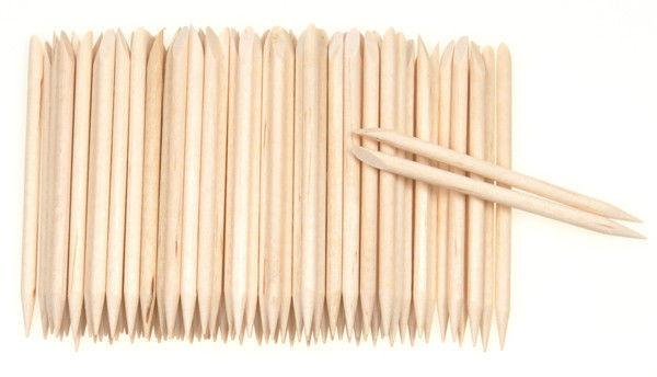 Disposable Orange Wood Sticks - The Manicure Company
