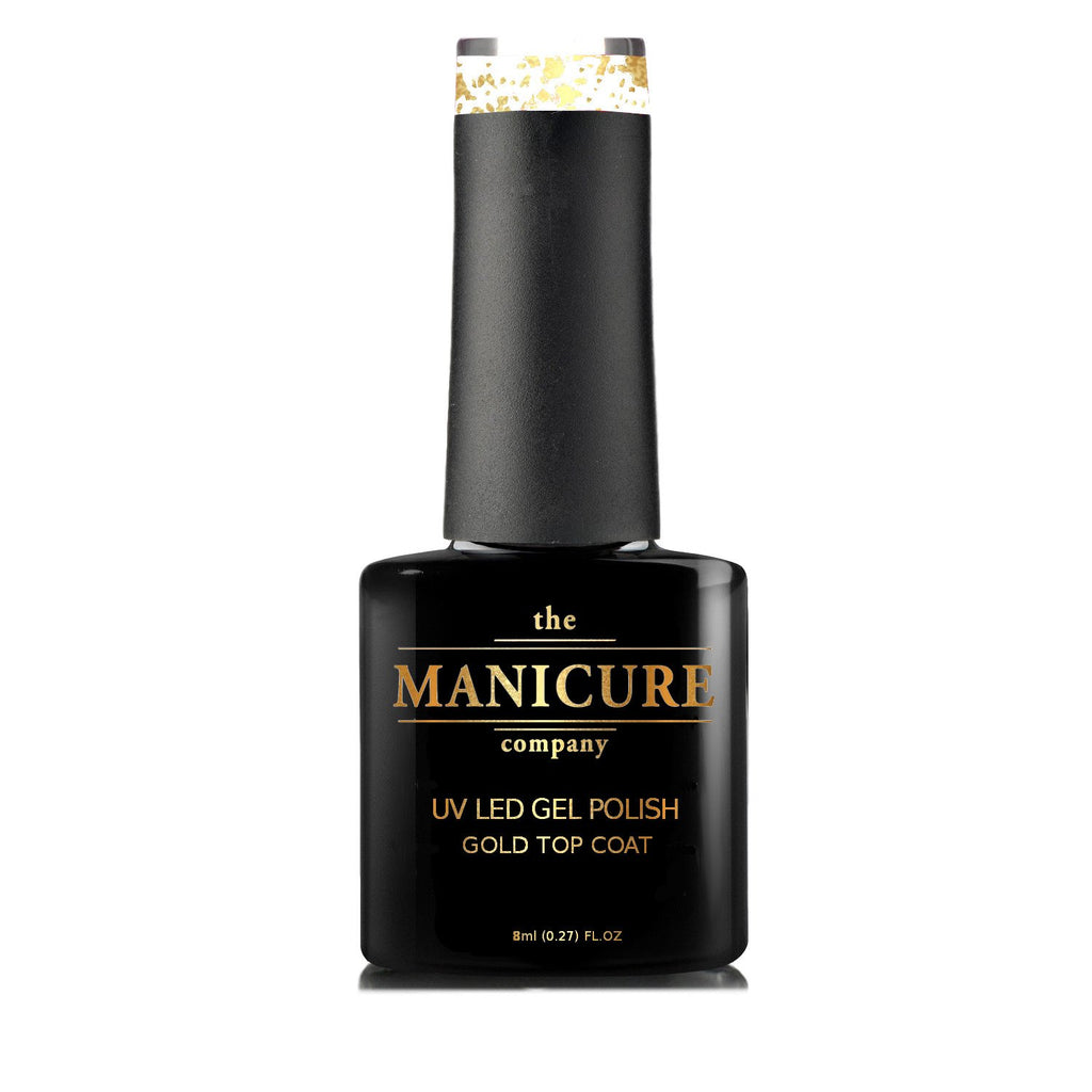 18ct Gold Gel Polish Top Coat