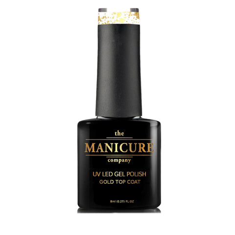 18ct gold gel polish top coat - The Manicure Company - 3