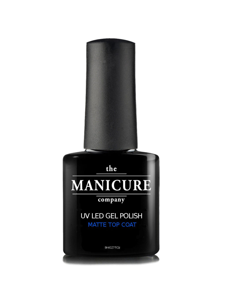 Suede Matte Effect Gel Polish Top Coat - The Manicure Company - 1
