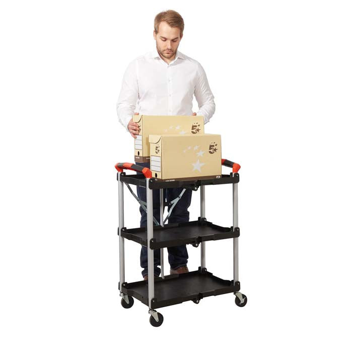 Folding Trolley - Oracle Workplace