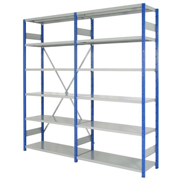 Expo 4 Steel Shelving System - Oracle Workplace