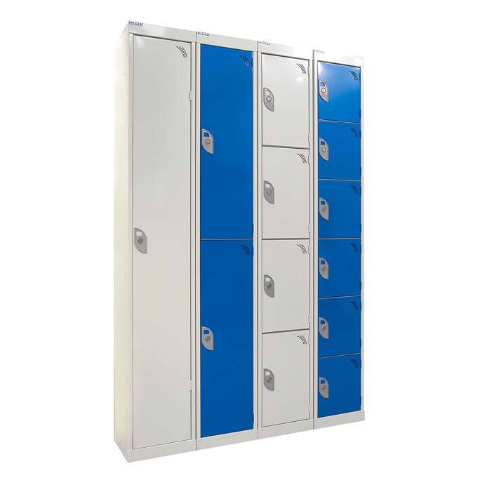Locker - 4 Tier / Four Door Steel Locker - Oracle Workplace