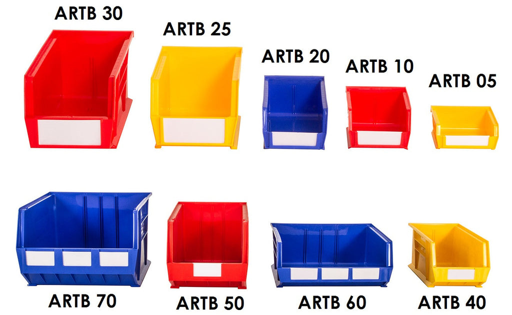 Rhino Tuff Plastic Storage Bins - Oracle Workplace