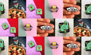 5 Must Have Enamel Pins for Vegans