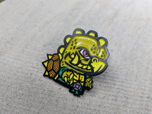 Tokka Pin - Warrior Pins