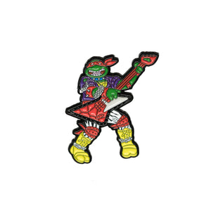 Heavy Metal Raph Pin - Warrior Pins