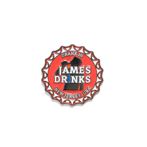 James Drinks Pins - Warrior Pins