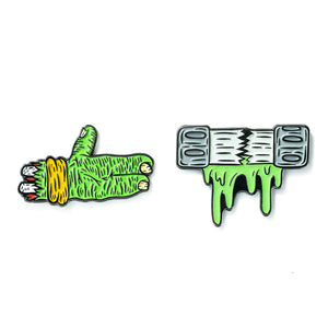 Run the Ooze Pins