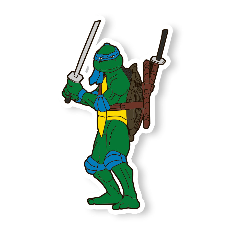 TMNT 1990 Movie Leonardo Sticker