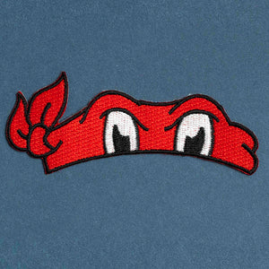 Red Turtle Bandana Patch