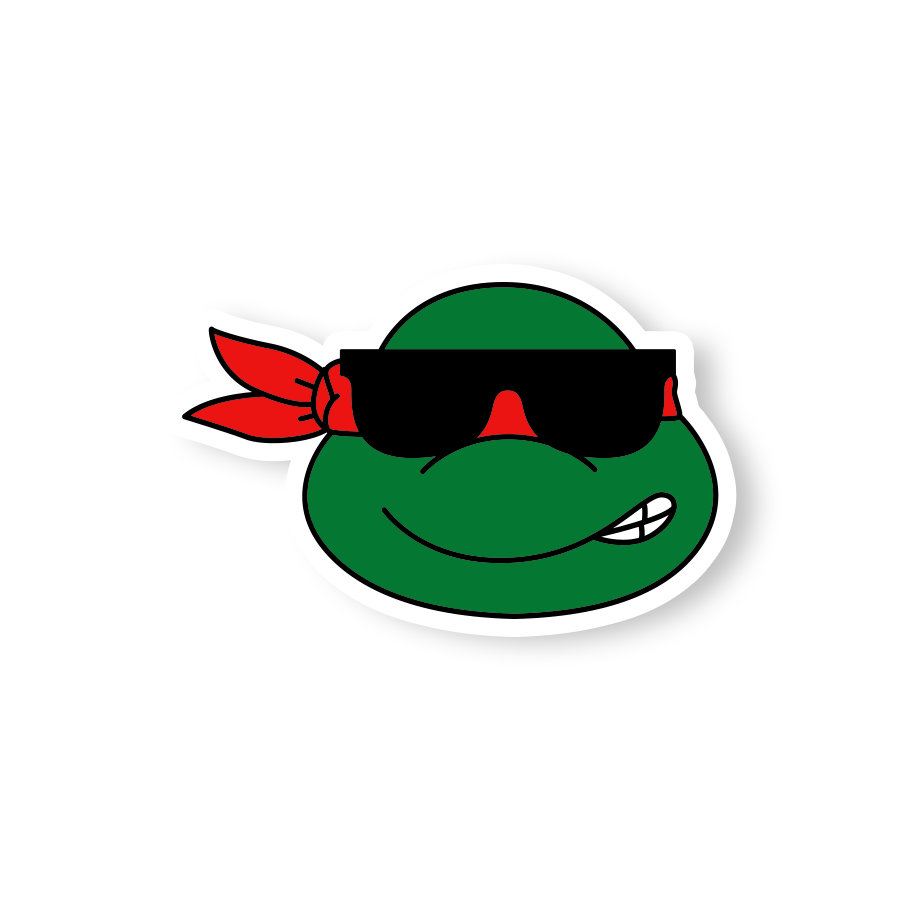 Raphael Sunglasses Sticker