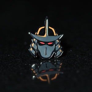 Shred Head Pin - Warrior Pins