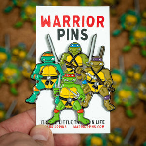 TMNT Team Up Pin