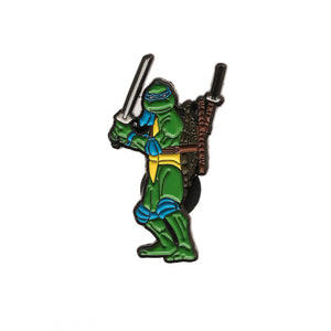 Leonardo 1990 TMNT Movie Enamel Pin