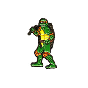 TMNT OG Michelangelo Pin - Warrior Pins