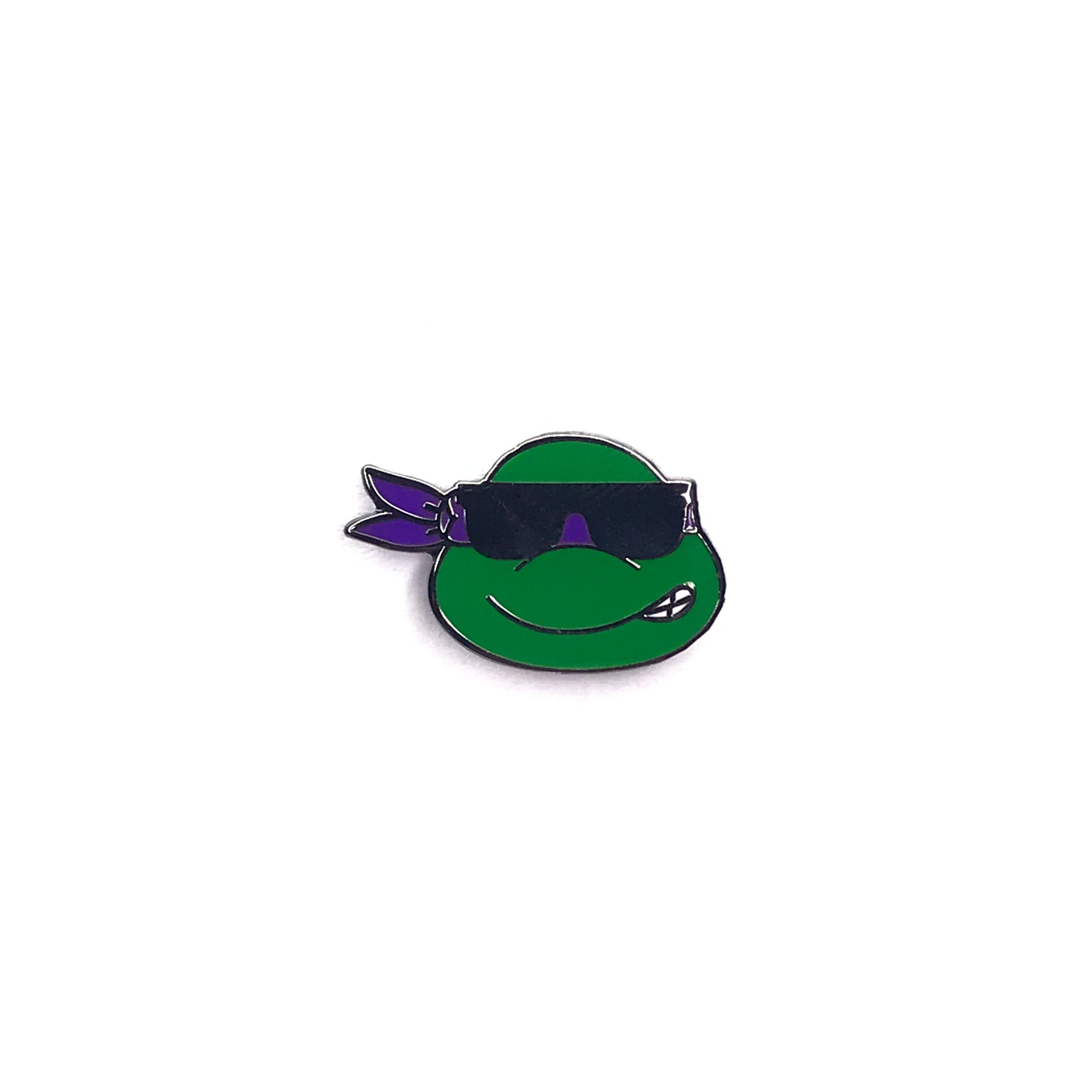Donatello Sunglasses TMNT Emoji Pin