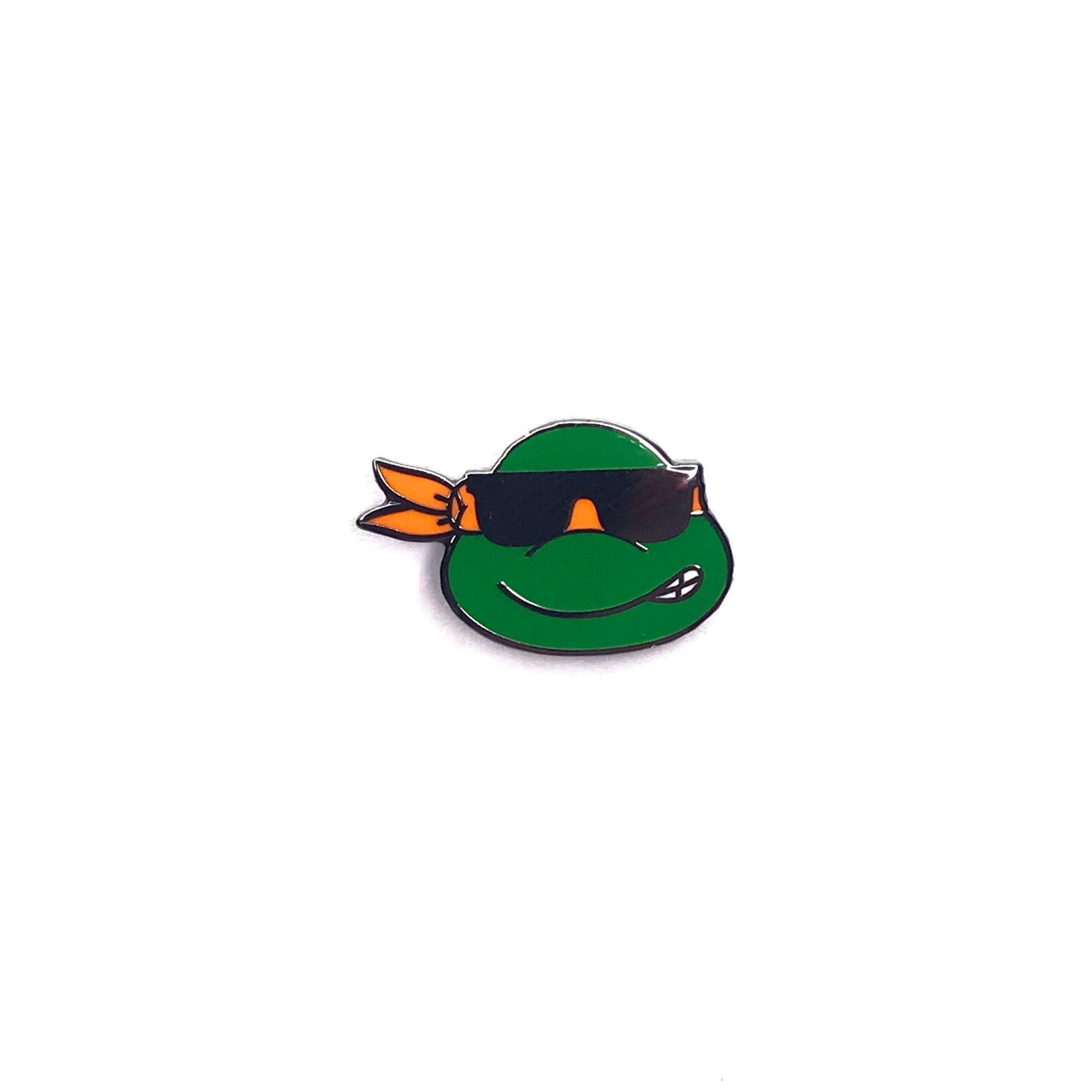 Michelangelo Sunglasses TMNT Emoji Pin