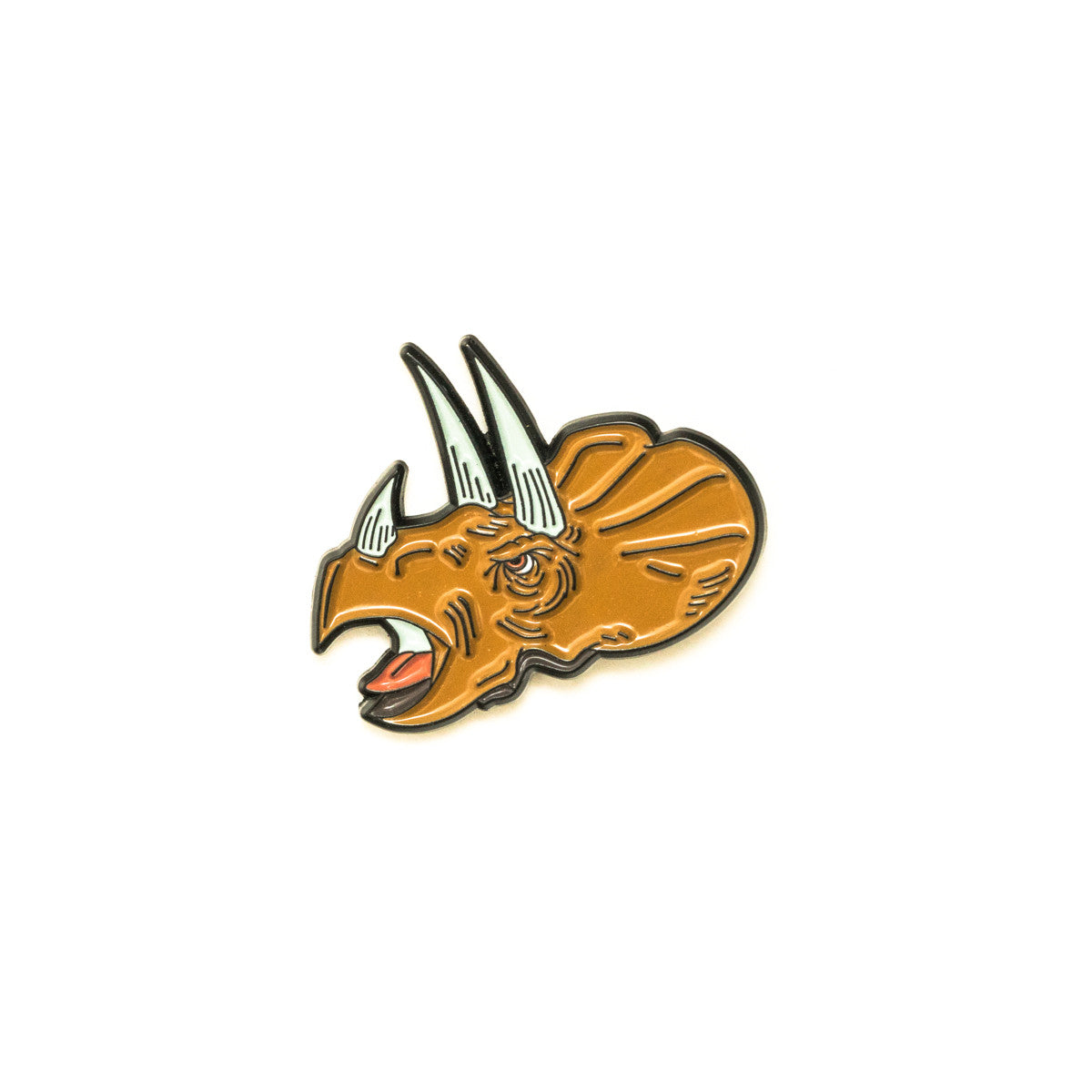 Triceratops Pin - Warrior Pins