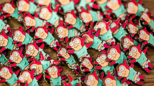 Morty Jr Pin - Warrior Pins