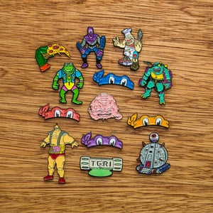 Alien Brain Pin - Warrior Pins